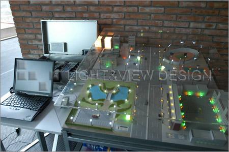 照明控制系统模型