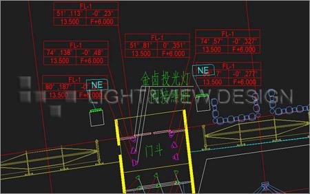 led场景灯具平面设计